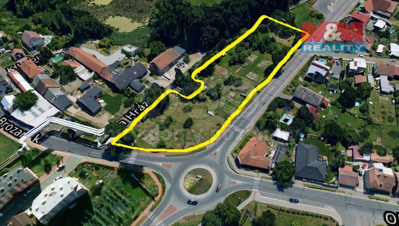 Prodej, komerční pozemek, 5559 m2, Pardubice, Staré Hradiště