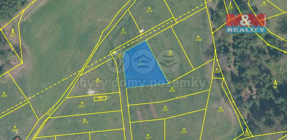 Prodej, stavební pozemek, Rodvínov - Jindřiš