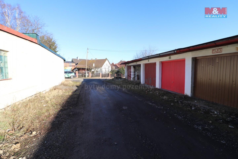 Prodej, garáž, 17 m2, Sokolov, ul. Dr. Kocourka