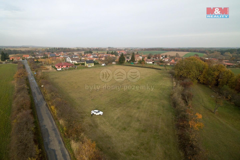 Prodej, stavební parcela, 838 m2, Štíhlice, Praha - východ