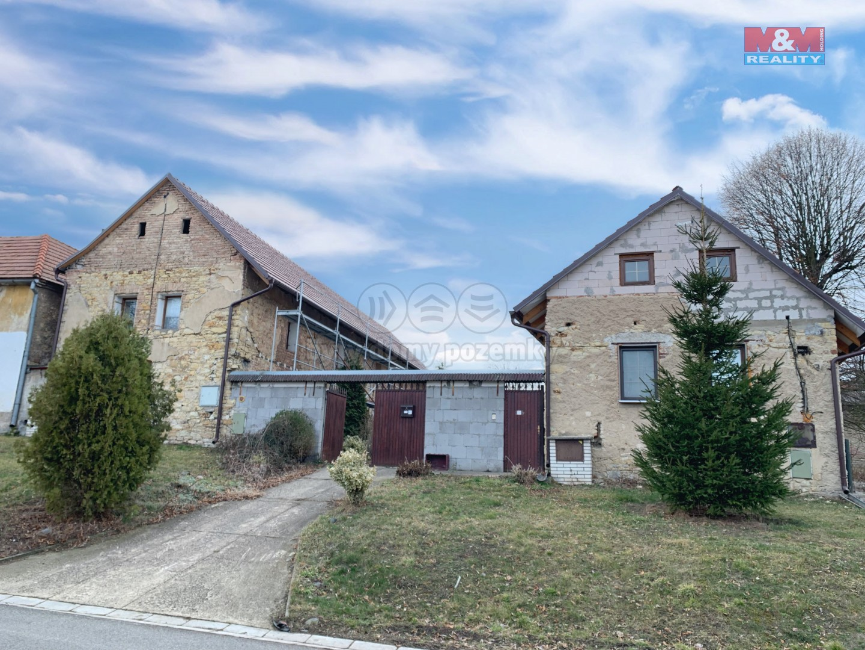 Prodej, rodinný dům 3+1, 3+kk, 2155 m2, Židovice
