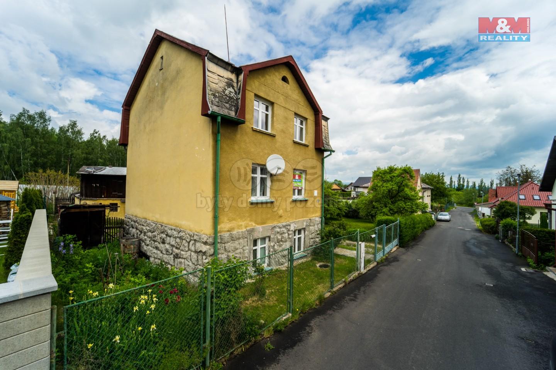 Prodej, rodinný dům, 7+kk, 65 m2, Karlovy Vary, ul. Sopečná