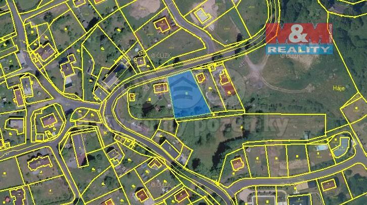 Prodej, pozemek, 1491 m2, Háje u Karlových Var
