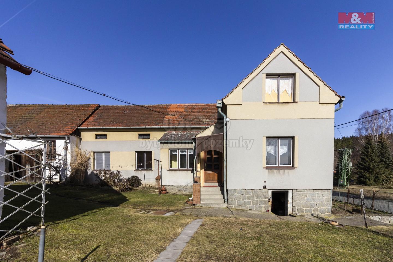 Prodej, rodinný dům 5+1, 1458 m2, Bolkov