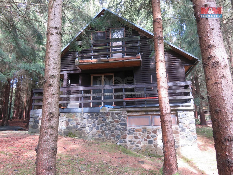 Prodej, chata 48 m2, pozemek 417 m2, Netín