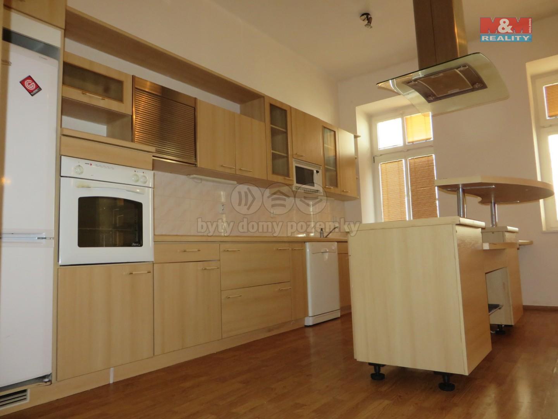 Pronájem, byt 2+kk, 65 m2, Chomutov, ul. Riegrova