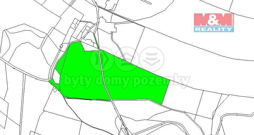mapa 1 (Prodej, louka, 55942 m2, Jablonné v Podještědí), foto 1/3