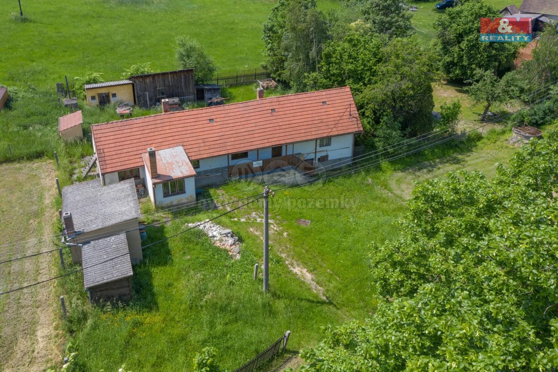Prodej, chalupa 2+1, 701 m2, Hřešihlavy u Kladrub
