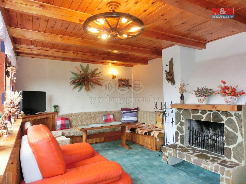 Obývací pokoj (Prodej, chata, 52 m2, Radošov), foto 1/20