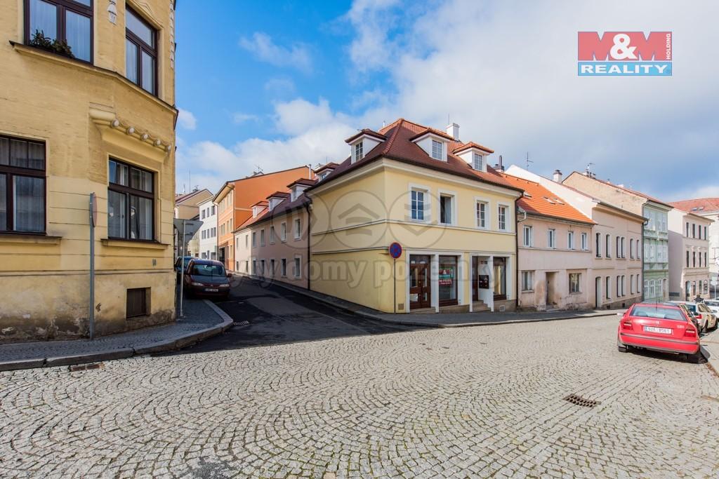Hlavní pohled (Prodej, atypický byt, 155 m2, Litoměřice, Dómská, I.NP), foto 1/19