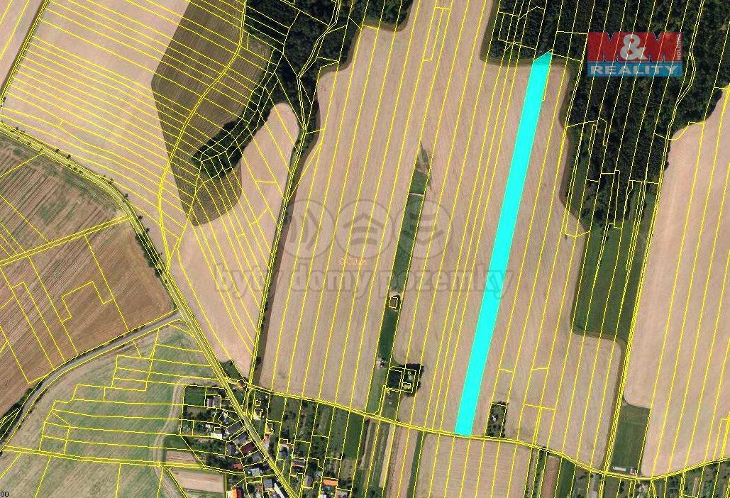 Pozemek zemědělský na prodej, Tísek