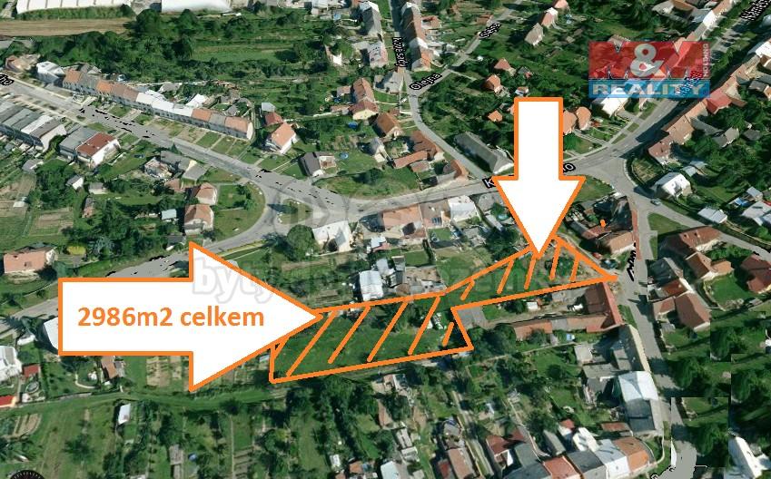 Prodej, stavební pozemek, Morkovice