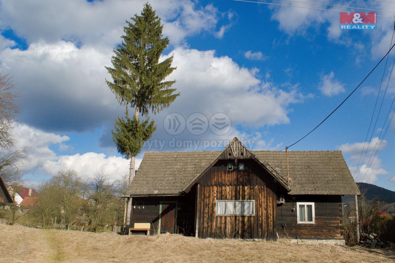 Prodej, rodinný dům 1+1, Halenkov