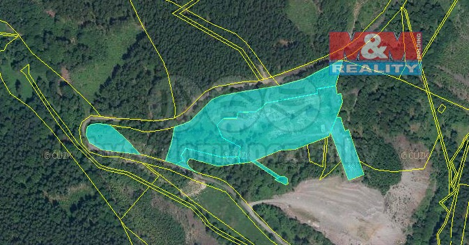 Prodej, stavební parcela, 29142 m2, Jáchymov