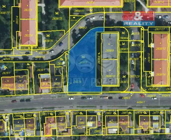 Prodej, pozemek, 1227 m2, Praha 10 - Strašnice