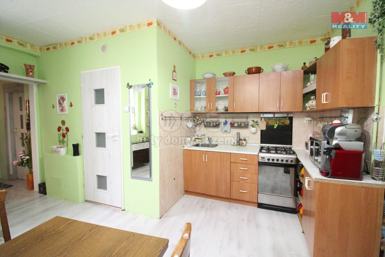 Kuchyň (Prodej, byt 3+1, 71 m², OV, Praha 7 - Letná)