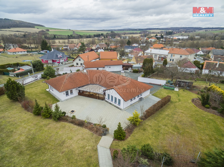 Prodej, rodinný dům, 6+kk, 5790 m2, Horšice