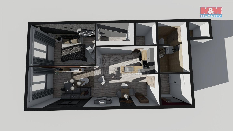 Prodej, nebytový prostor 2+kk, 60 m2, Praha 5, Hlubočepy