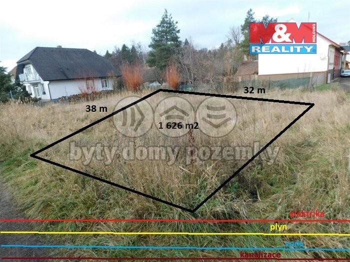 Prodej, stavební pozemek, 1626 m2, Ivančice