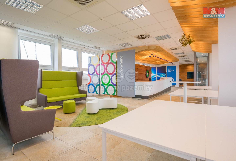 Pronájem recepce a konferenční místnost o celk.ploše 478 m2 (Pronájem, školící centrum, recepce, 478 m2, Mníšek p. B.), foto 1/16