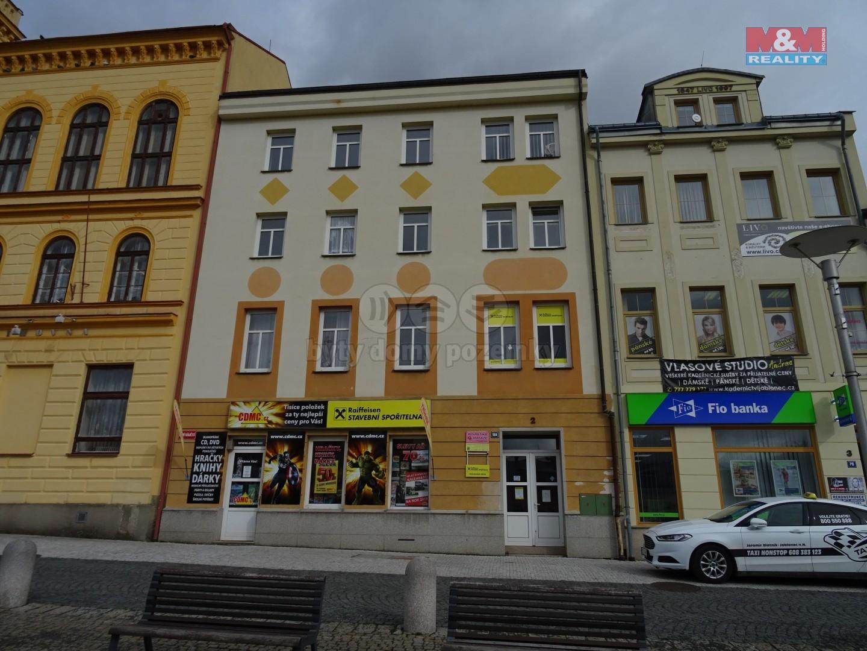 Pohled na dům (Prodej, obchodní objekty, Jablonec nad Nisou, Dolní náměstí), foto 1/22
