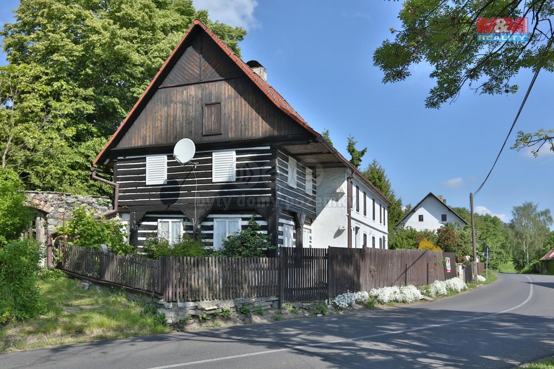 Prodej, chalupa, 437 m2, Srdov - Liběšice