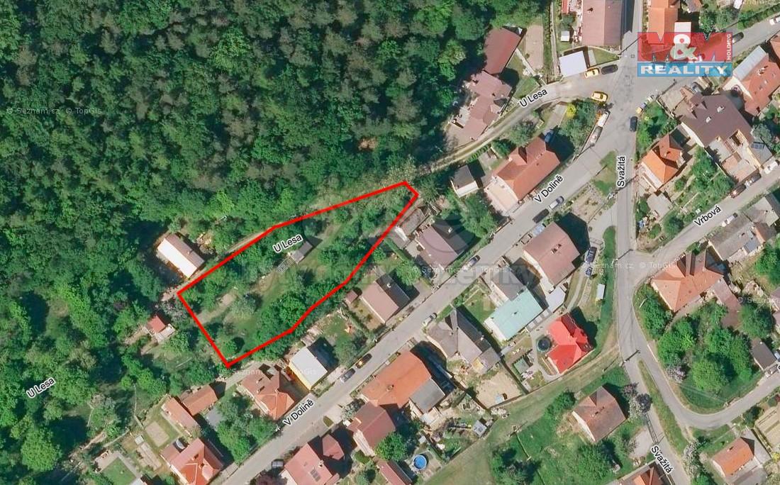 Prodej, stavební pozemek, 1491 m2, Zlín - Jaroslavice