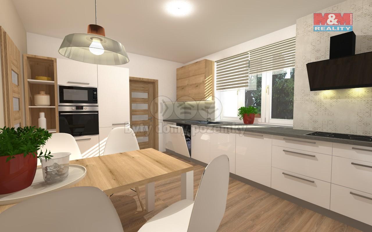 Prodej, byt 4+kk, 80 m2, Praha 8, Troja
