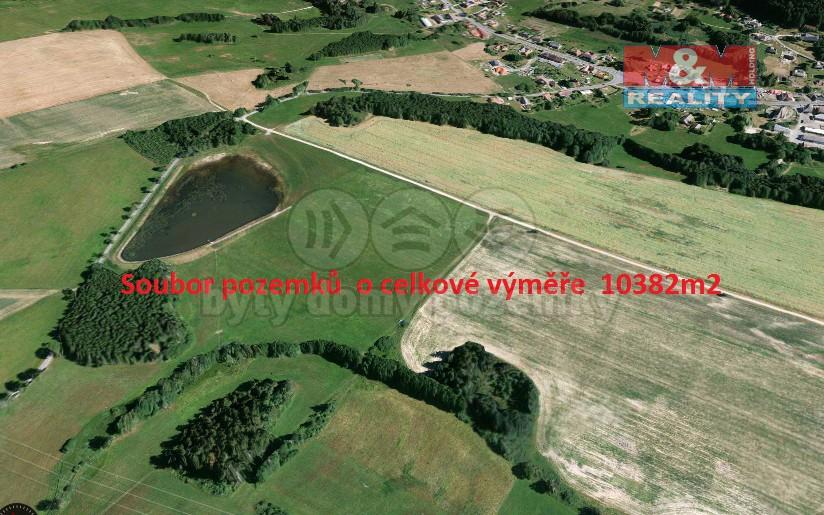 Prodej, pole, 10382 m2, Jedlová u Poličky