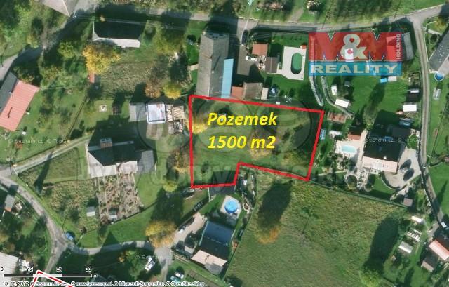 (Prodej, pozemek, 1500 m2, Rychnov nad Kněžnou - Habrová)