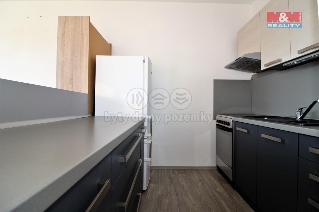 kuchyně (Pronájem, byt 2+kk, 42 m2, Stráž pod Ralskem)
