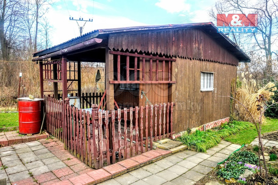 Prodej, chata, 20 m2, Ostrava - Martinov, ul. Na Hrázi
