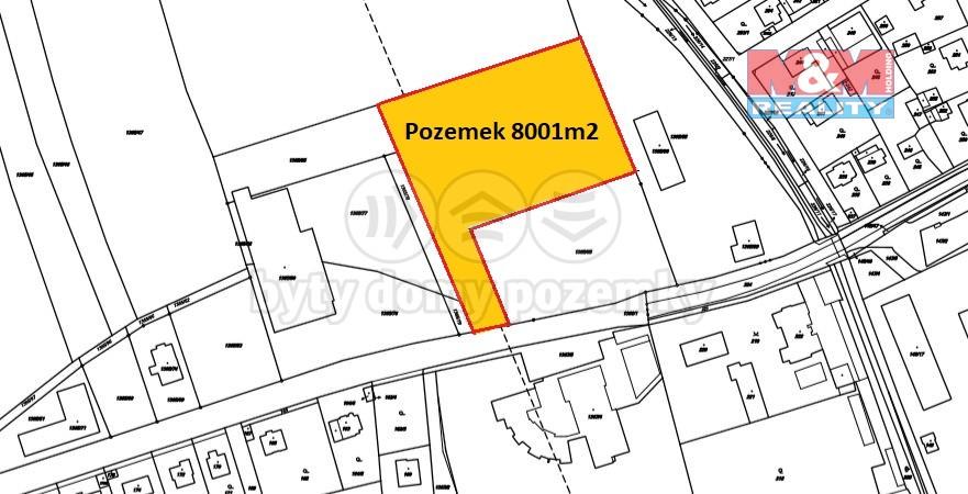 Prodej, provozní plocha 8001 m2, Lety u Dobřichovic,