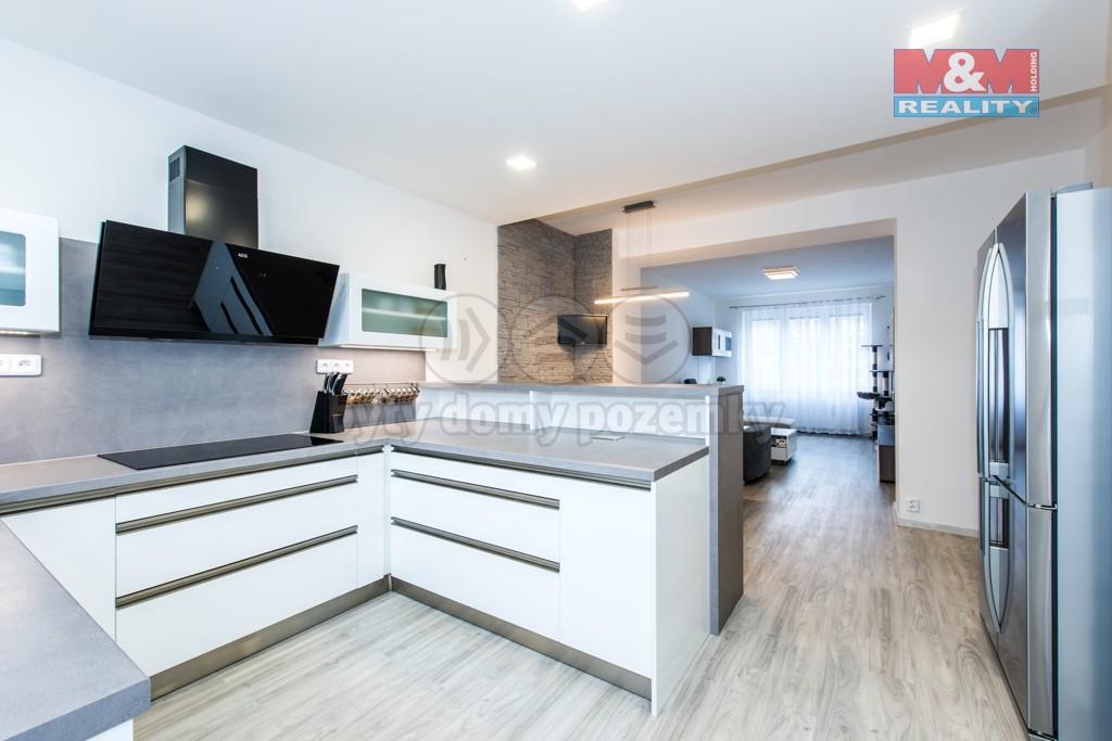 kuchyně s obývacím pokojem (Prodej, byt, 4+kk, OV, 102 m2, Ústí nad Labem), foto 1/21