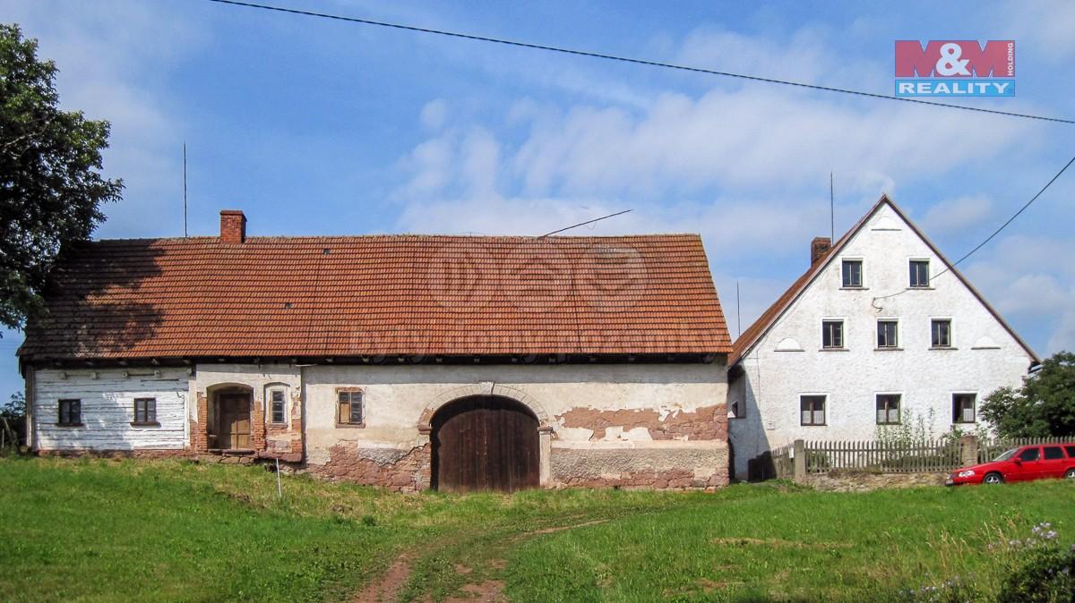 Prodej, rodinný dům, 533 m2, Šonov u Broumova