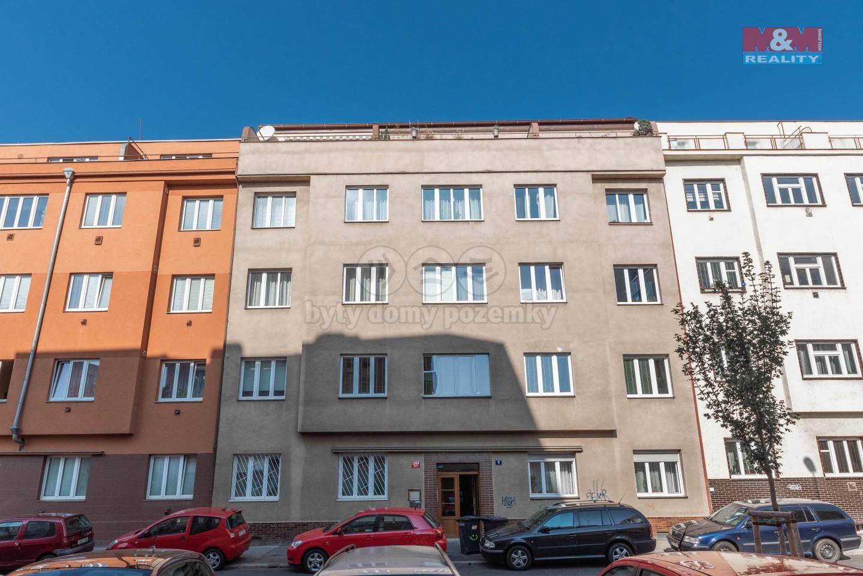 Prodej, byt 1+1, Praha, ul. U hranic