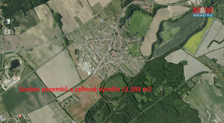 Prodej, pole, 11393 m2, Rohatec