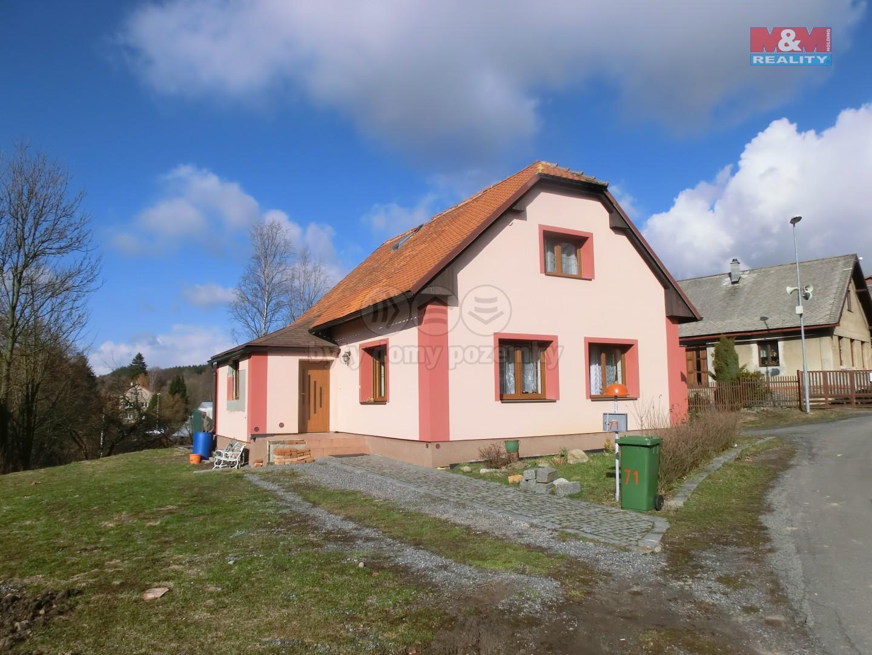 Prodej, rodinný dům 3+kk, 187m2, Hamry u Hlinska