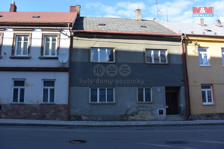 Prodej, rodinný dům, Moravská Třebová, ul. Josefská