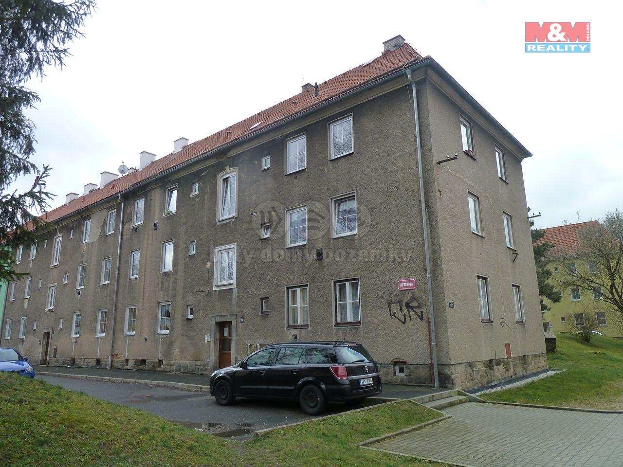 Prodej, byt 2+1, 53 m2, Cheb, ul. Riegerova
