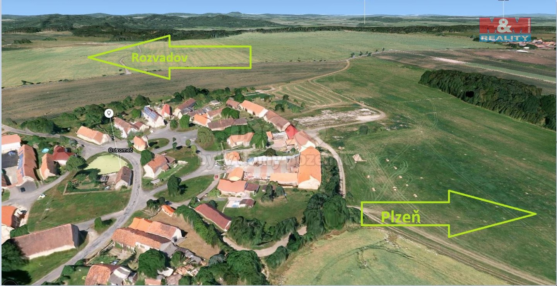 Prodej, pozemek, 10605 m2, Velký Malahov - Ostromeč