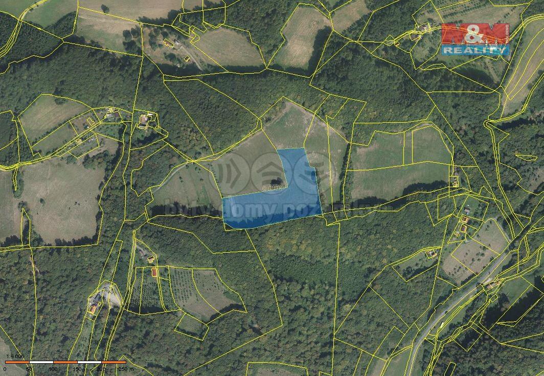 Prodej, pastvina, 18211 m2, Vsetín