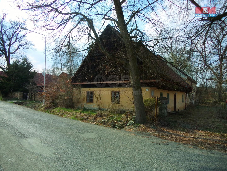 Prodej, rodinný dům 3+kk, 1082 m2, Hůrky u Zahrádky