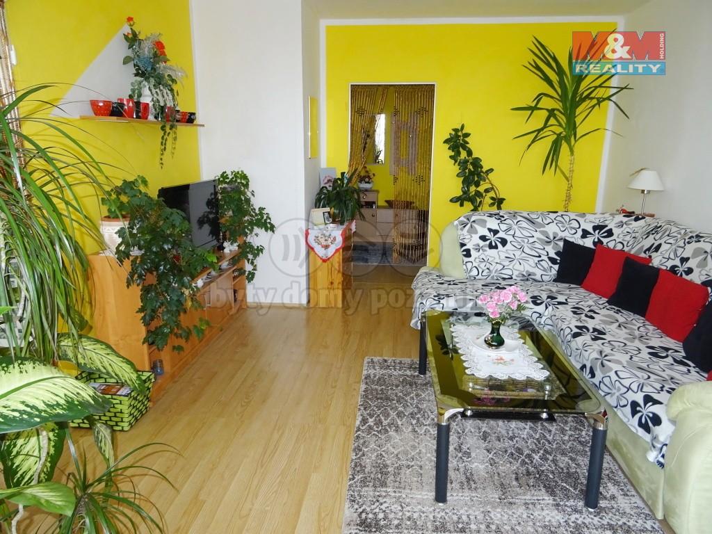 obývací pokoj - pohled od okna