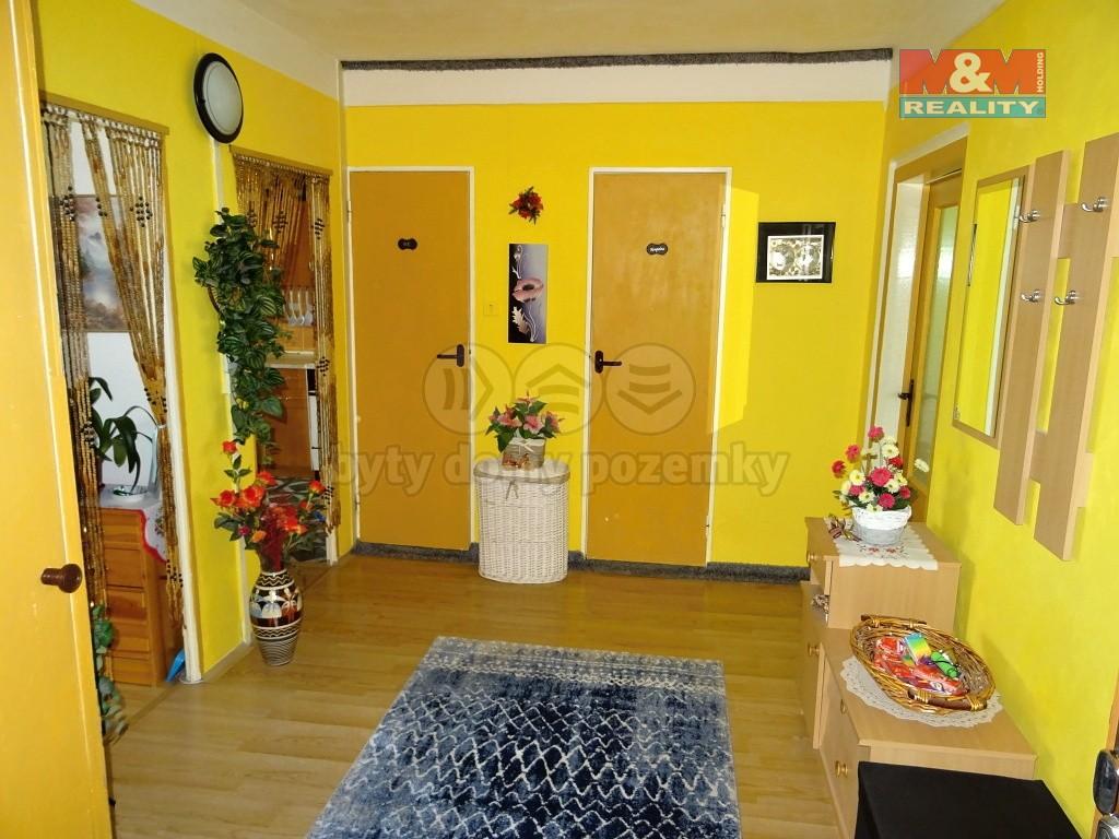 pohled do bytu od vchodových dveří