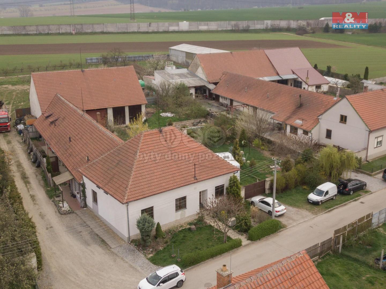 Prodej, rodinný dům, 1334 m2, Ostrovačice