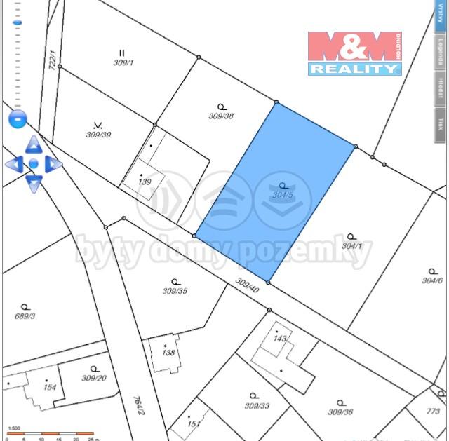 Prodej, stavební parcela, Mnichovo Hradiště