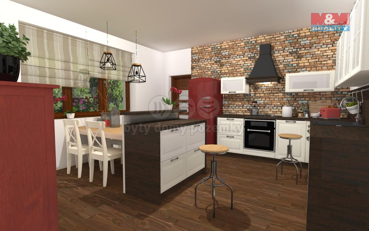 vizualizace - kuchyně