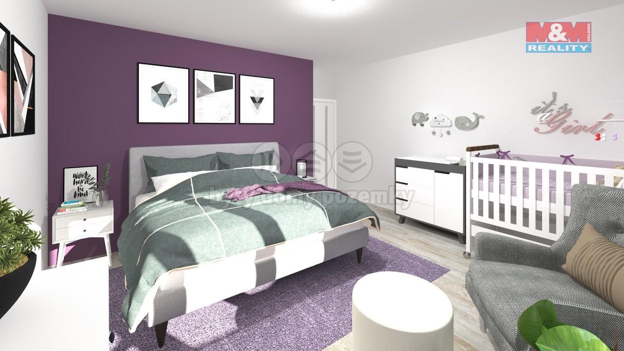 vizualizace - ložnice