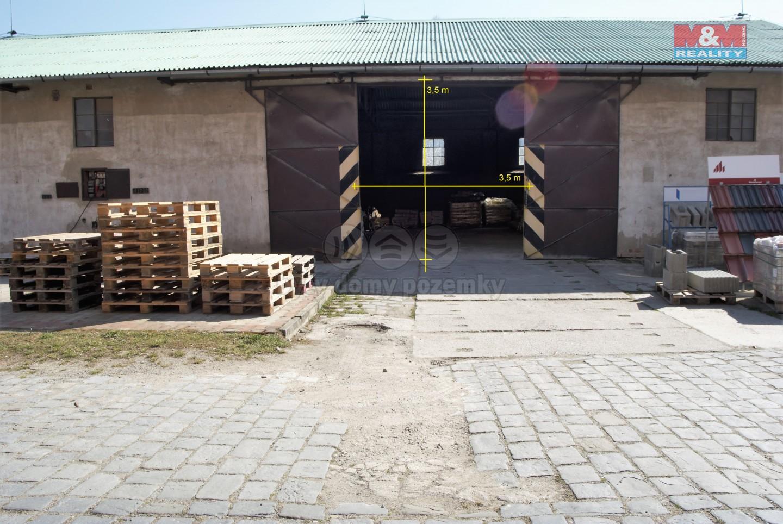 Pronájem, výrobní objekt, 300 m2, Ivanovice na Hané